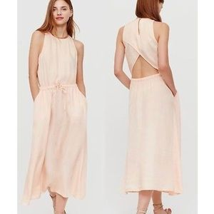Lou & Grey Open Back Maxi Dress (C4)